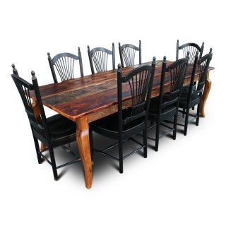 Barnwood Curvacious Table