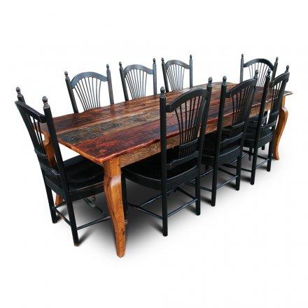 Barnwood Curvacious Table