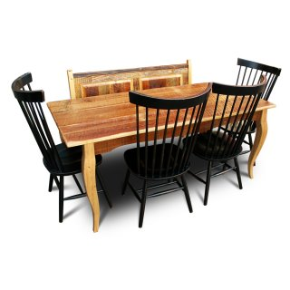 Barnwood French Table w Bemcj