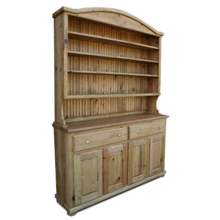 Rustic Bonnet Top Hutch