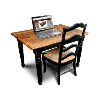 Country Turned Desk
