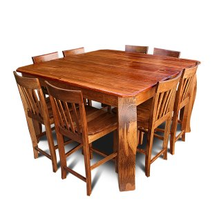 handcrafted rustic cypress tables all wood furniture company - All Wood Dining Room Table