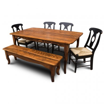 Creole Table w Bench