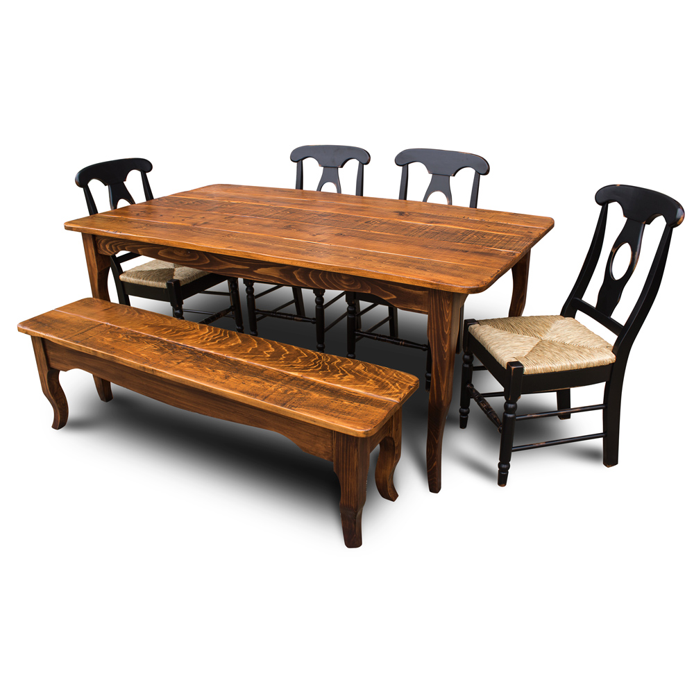 Creole Table With Bench