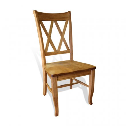 Double X Back Whiskey Chair