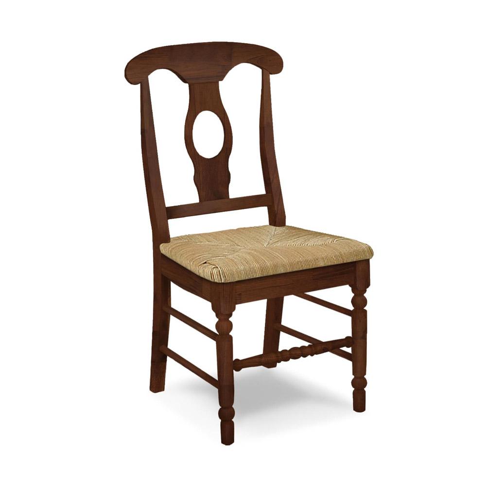 Empire Chair W Rush Seat C-1200B