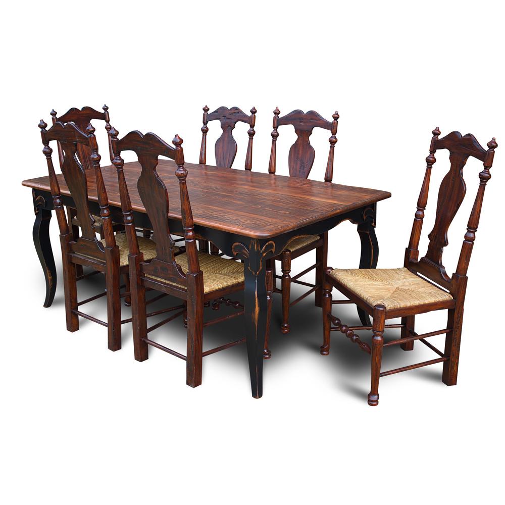 fleur de lis table no 3. Black Bedroom Furniture Sets. Home Design Ideas
