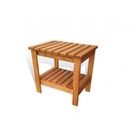 Large Double Decker End Table