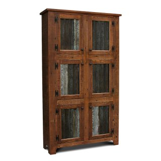 Rustic Shaker 6 Door Pie Safe