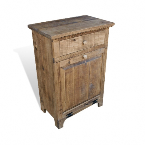 Rustic Shaker Trash Can Holder