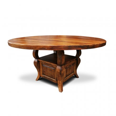 Sabre Leg Pedestal Table