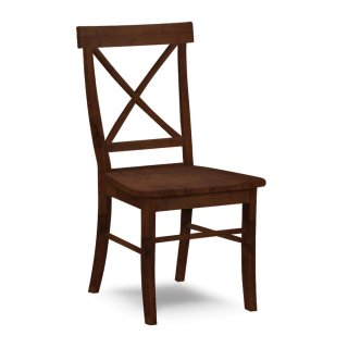Single X Back Chair