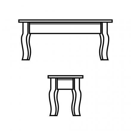 Crawfish Leg Table