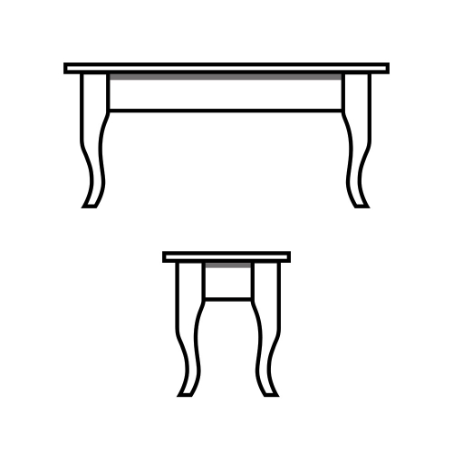 Cabin Leg Table
