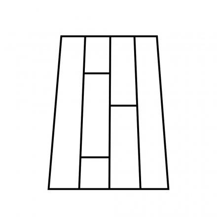 Split Plank Top