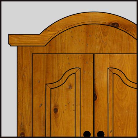 Custom Arch Doors