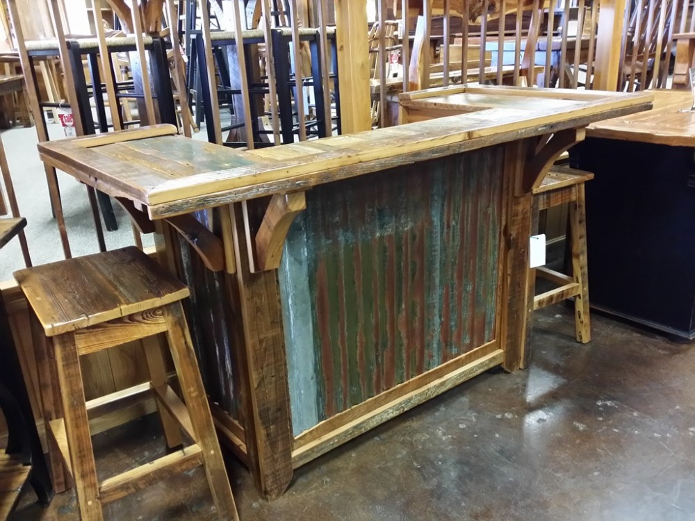 6′ Antique Cypress Bar UL-11 SOLD