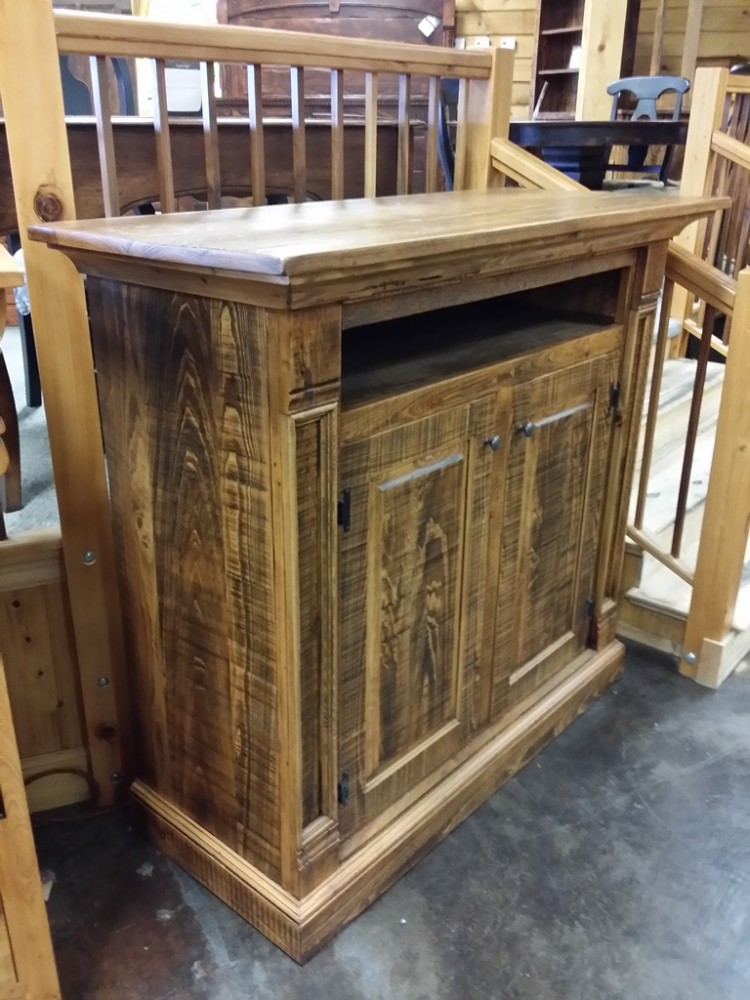Rustic Empire T.V. Stand @ UL Store UL-44 Red Tag