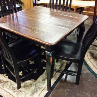 """40"""" Square Acadiana French Table @ UL Store UL-18 In Stock"""