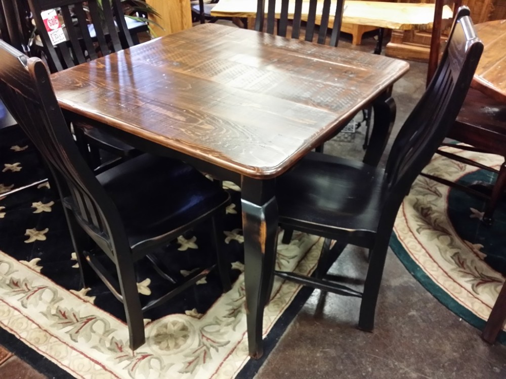 "40"" Square Acadiana French Table @ UL Store UL-18 In Stock"