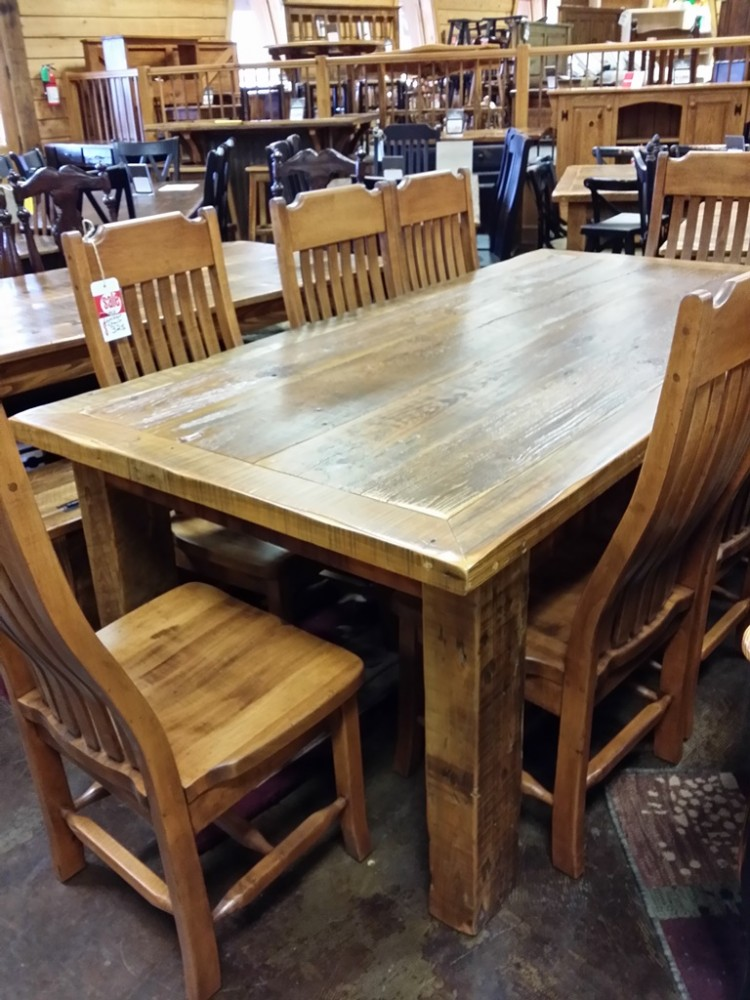 7′ Antique Cypress Table @ UL Store UL-21 SOLD