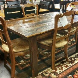 5′ Antique Cypress Table @ UL Store UL-15 In Stock