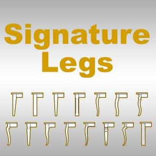 Table Leg Signature