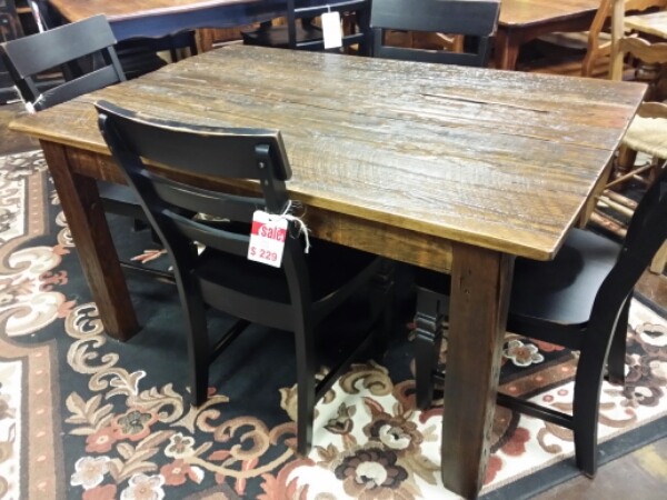 5′ Antique Cypress Table @ UL Store UL-01 SOLD