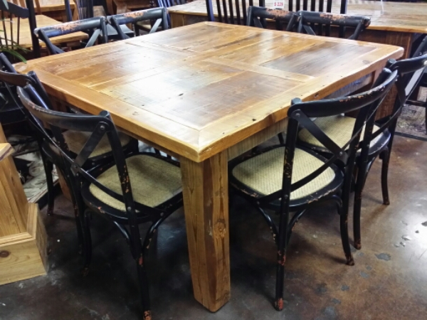 Antique Cypress Barn Style Table @ UL Store UL-07  SOLD