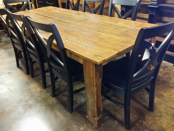 8′ Antique Cypress Table UL-10 SOLD