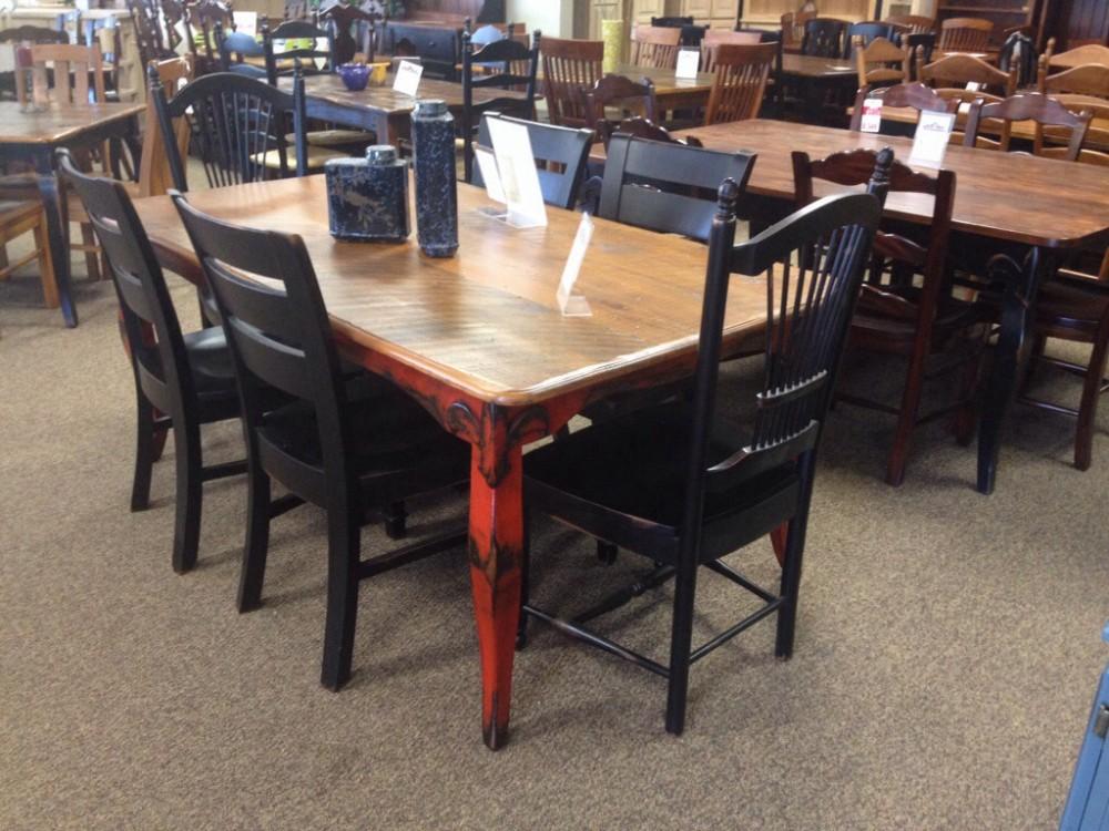 6 39 Fleur De Lis Table Baton Rouge Br 5 Sold All Wood Furniture