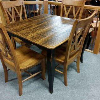 "40"" French Table @ UL Store UL-28 SOLD"