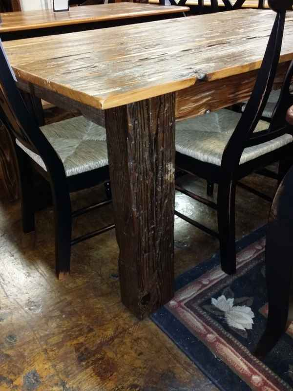 6 39 Old Pecky Cypress Table Ul Store Ul 30 Sold All