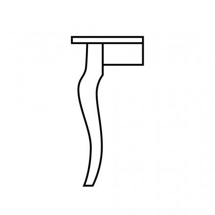 20th Anniversary Table Leg