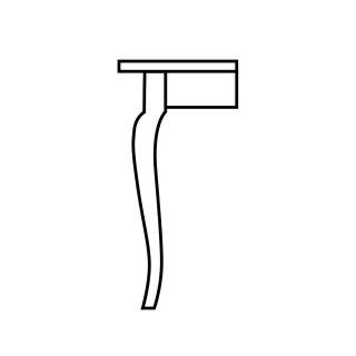 Acadiana Table Leg