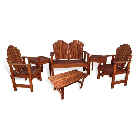 Adirondack Porch Chair 6 pc Combo