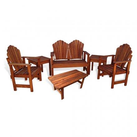 Adirondack Porch Chair 6 pc Combo