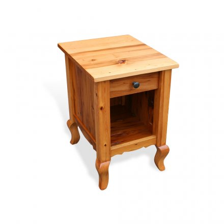 Barnwood French Night Stand