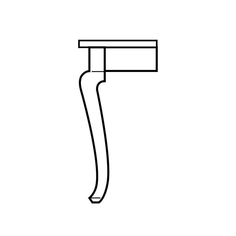 Cabriole Table Leg