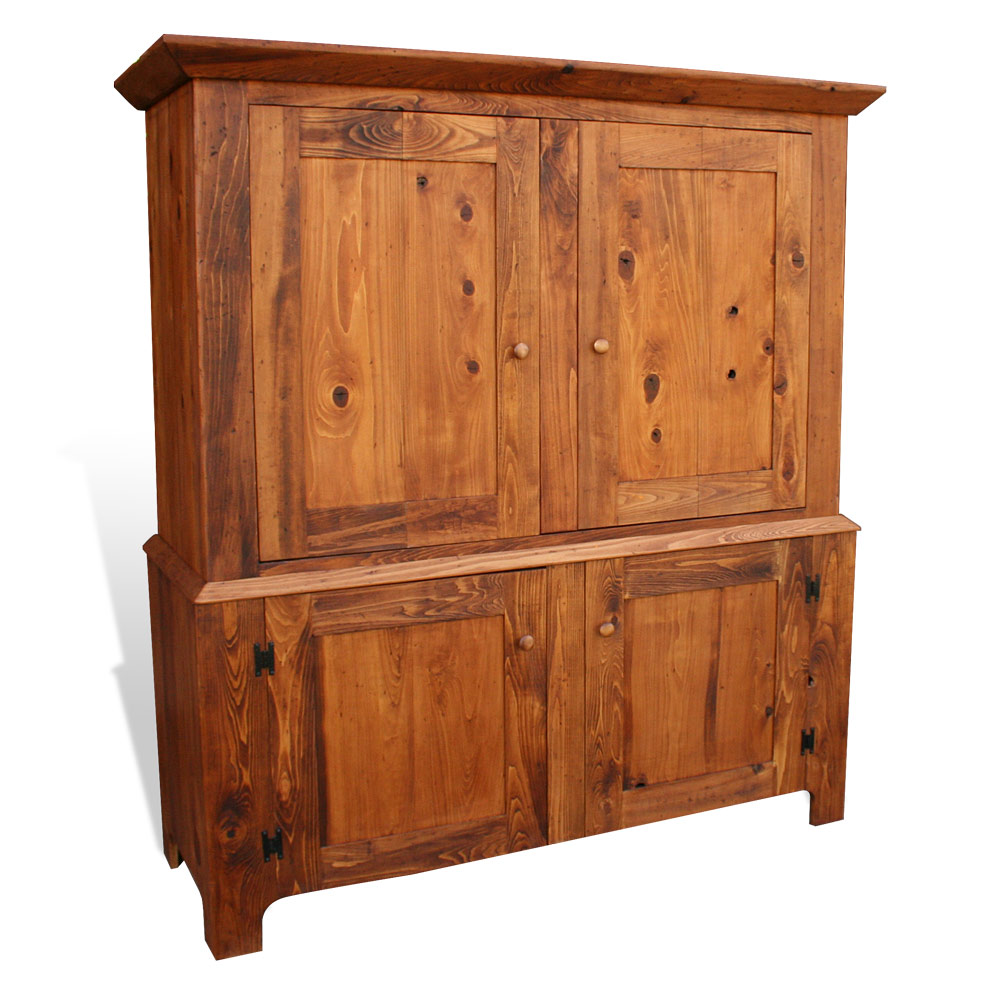 Country shaker 2 pc armoire no 2 for Entertainment armoire