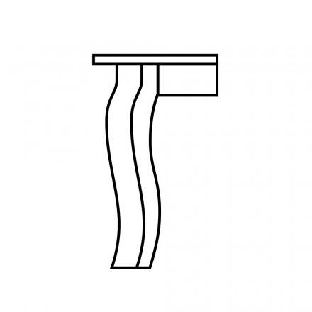 Crawfish Table Leg