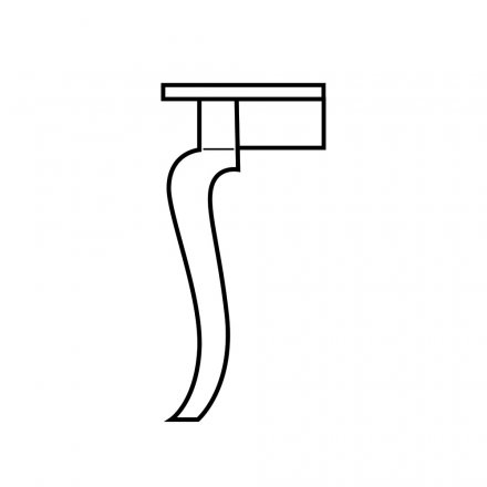 Curvacious Table Leg