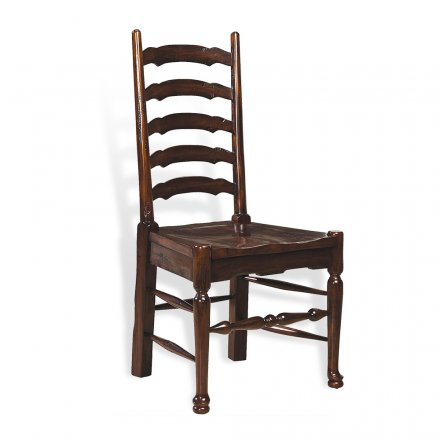 Rich Tobacco French Chair