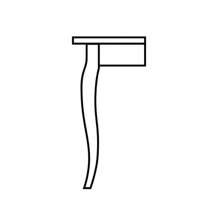 French Table Leg