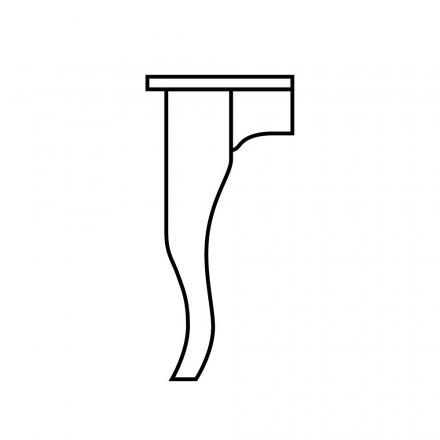Giant Creole Table Leg
