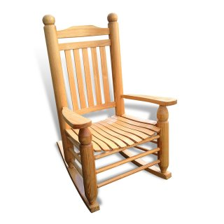 Giant Turned Oak Rocker