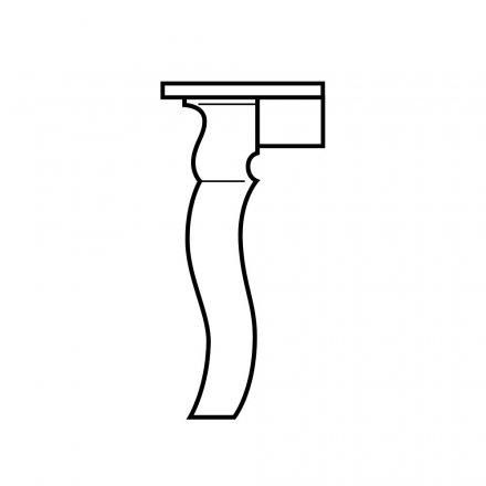 Giant Sabre Table Leg