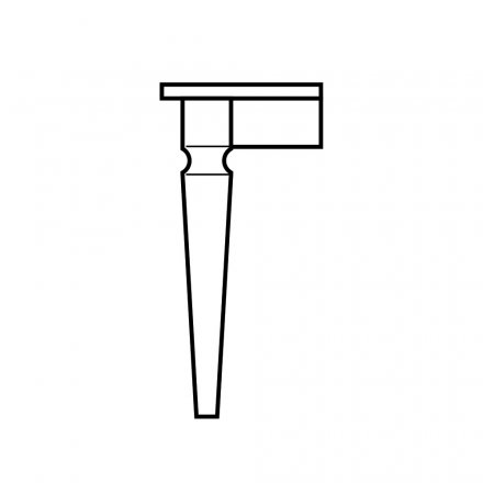 Notched Taper Table Leg