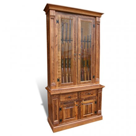 Rustic Empire Gun Cabinet