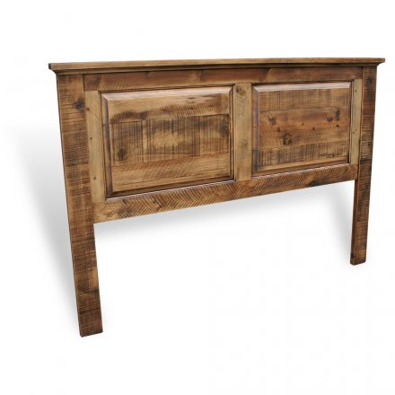 Rustic Heritage Panel Bed